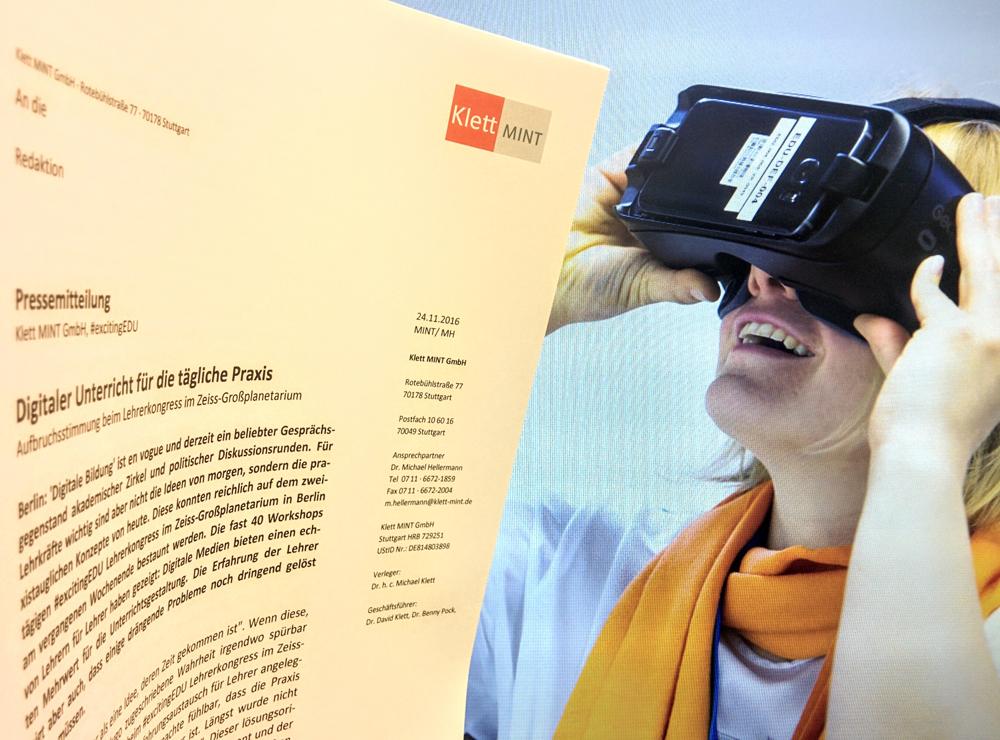 Digitaler Unterricht für die tägliche Praxis – #excitingEDU Lehrerkongress