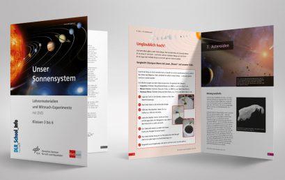 """""""Unser Sonnensystem"""" – Faszination Weltraum ansprechend vermittelt mit Klett MINT und DLR"""