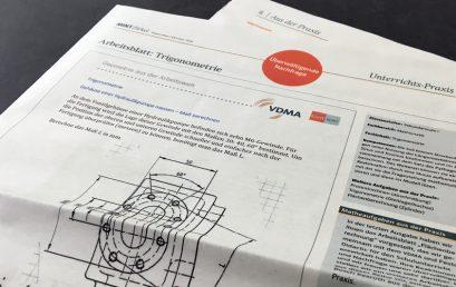 Praktische Matheaufgaben aus der Arbeitswelt – VDMA und Klett MINT zeigen, wie man das macht