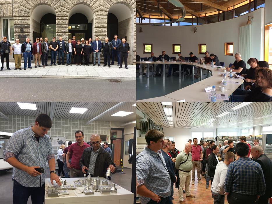 Europa lernt voneinander – Berufsschullehrkräfte und Ausbilder aus Bulgarien und der Türkei informieren sich in Stuttgart